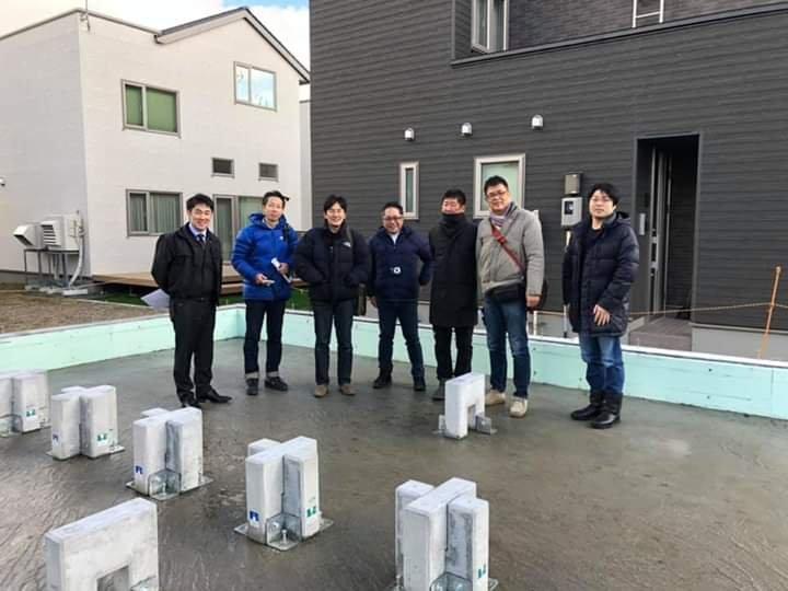 最新の家創りを求めて北海道へ