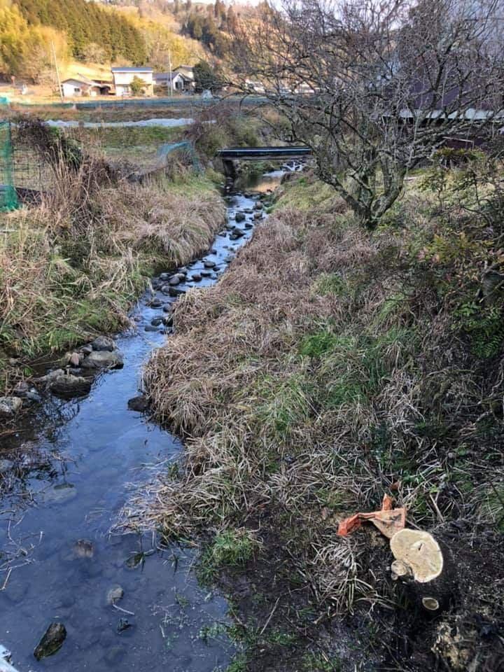 海田川の清掃活動