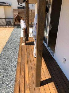 ロハスな家の竣工検査