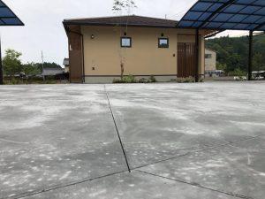土間コンクリート切断