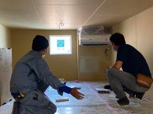小屋裏エアコン全館空調の家