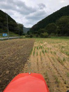 来年に向けてお米作りが始まりました。
