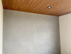 岡山市 S様邸 漆喰塗りアクセントウォール