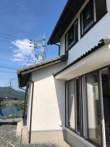 涼しい家には日射を遮るヒサシと軒が重要です。
